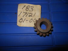 NOS OEM Yamaha RD125 HS1 YAS1C AS2C 2nd Pinion Gear 16T 183-17121-01