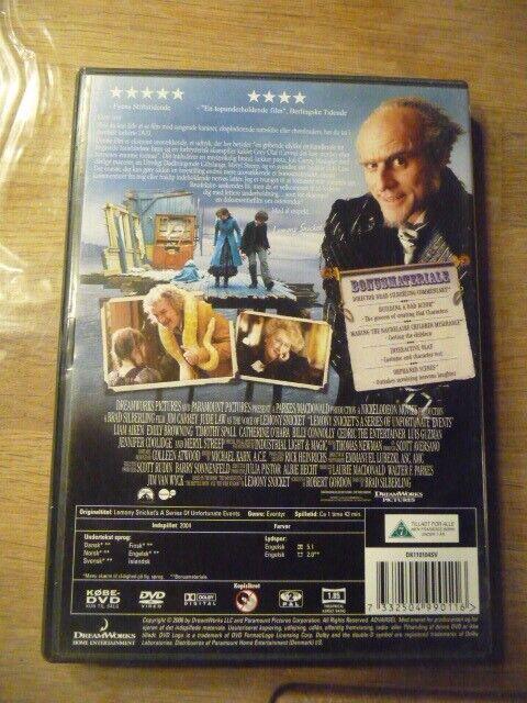 En ulykke kommer sjældent alene, DVD, eventyr