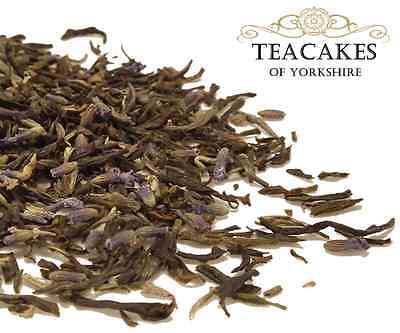 Green Loose Leaf Tea Lavender Butterfly 100g 250g 500g 1kg Caddy Gift Set