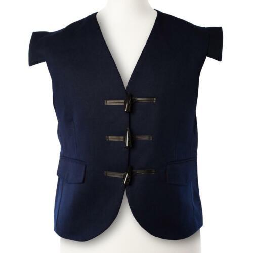 100/% Wool Men/'s Scottish Jacobean Jacobite Kilt Waistcoat Vest