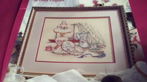 Leisure Arts Cross Stitch Leaflet by Paula Vaughan #1 U-PICK 1