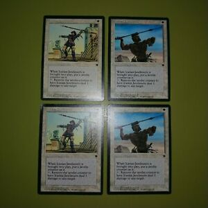 Icatian-Javelineers-x4-Fallen-Empires-4x-Playset-Magic-the-Gathering-MTG