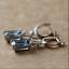 4-20Ct-Emerald-Cut-Aquamarine-Drop-amp-Dangle-Earrings-Solid-14K-White-Gold-Finish thumbnail 8