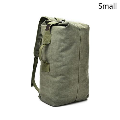 Fashion Travel Backpack Men Canvas Shoulder Outdoor Bag Multifunction Laptop Bag