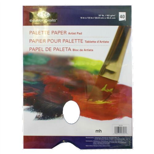 "9/"" x 12/"" Palette Paper Artist Pad Paint Tear Off Palette Oil royal /& Langnickel"