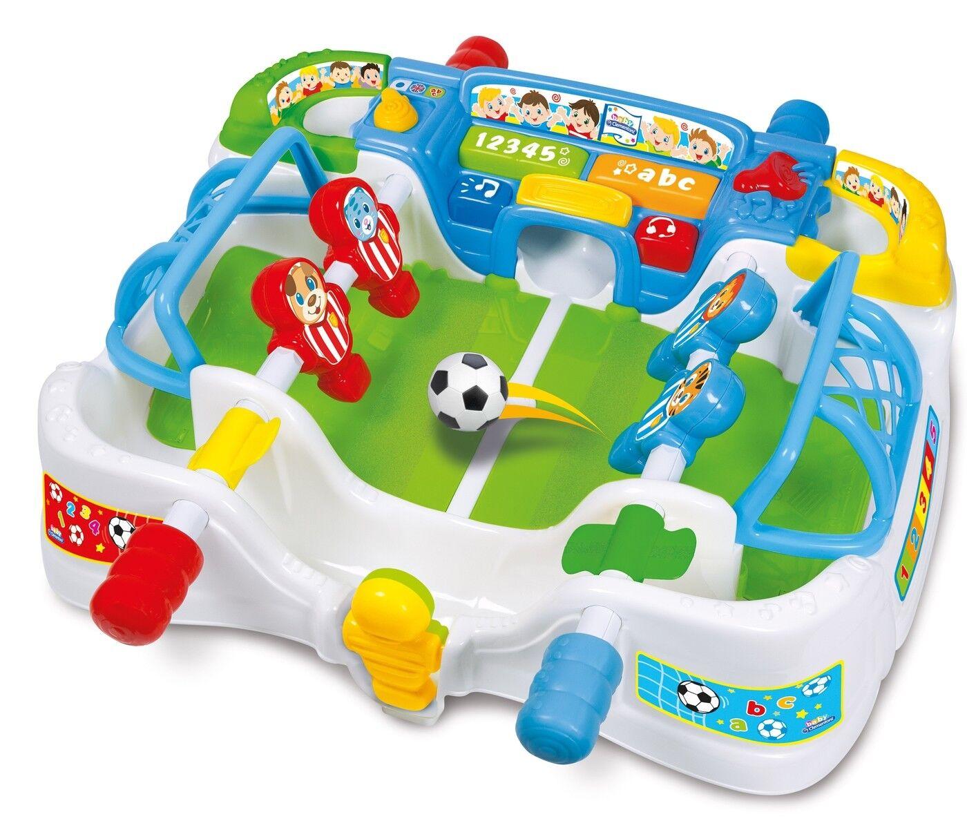 Clementoni Tischfußballspiel ab 18 Monate interaktiv Tisch Fußball Art 59003  | Ab dem neuesten Modell