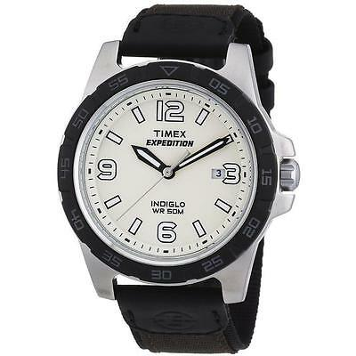 "Timex T49886, Men's ""Expedition"" Watch, Indiglo, Date, T498869J"