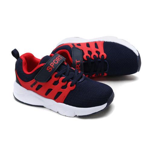 Girls Boys Running Trainers Kids Children Comfort Sports School Shoes UK STOCK