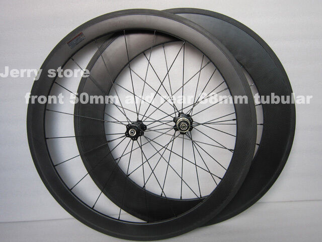 700C carbon bike wheels front  50mm and rear 88mm tubular full carbon fiber  hot limited edition