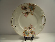 Vintage JPL France Limoge 2 Handled Cake Plate / Server