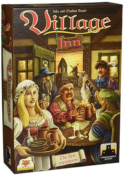 Village Board Game  Inn Expansion eggertspiele BRAND NEW ABUGames