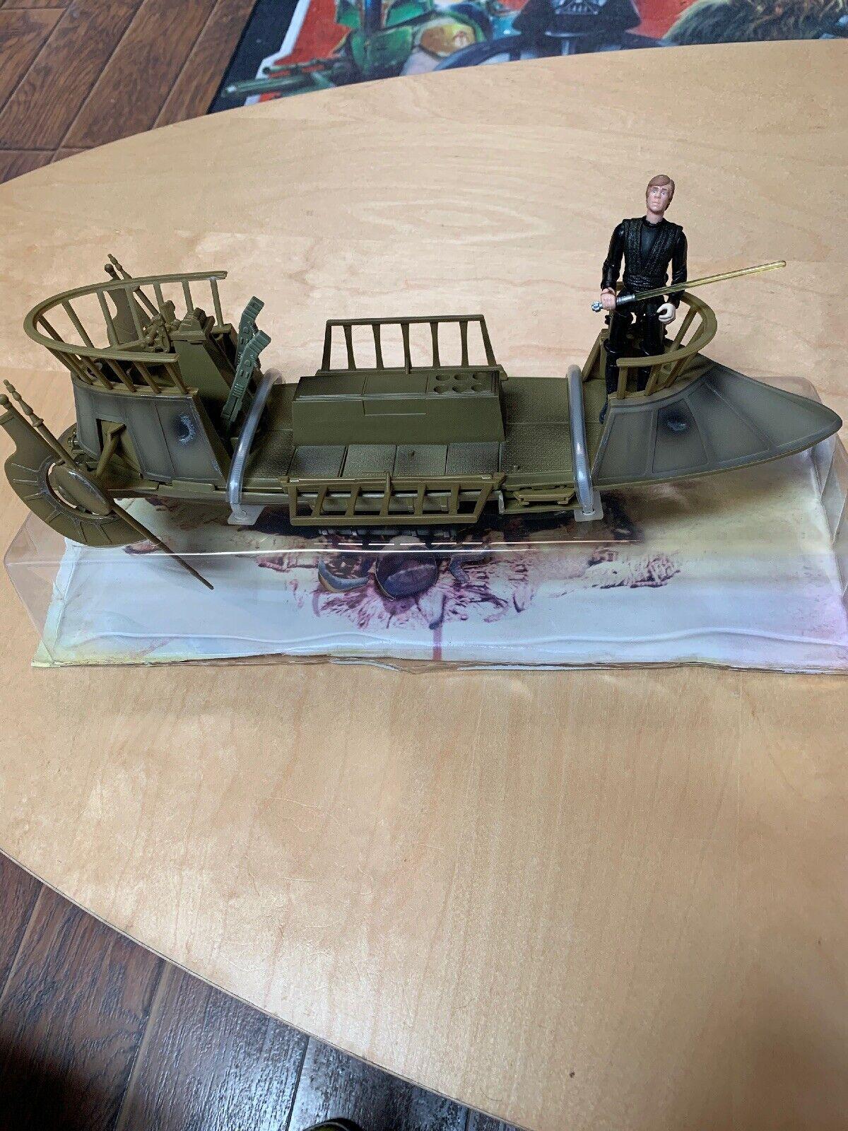 Star Wars Legacy Jabba's Sail Barge Khetanna Tatooine Skiff Sarlacc Diorama