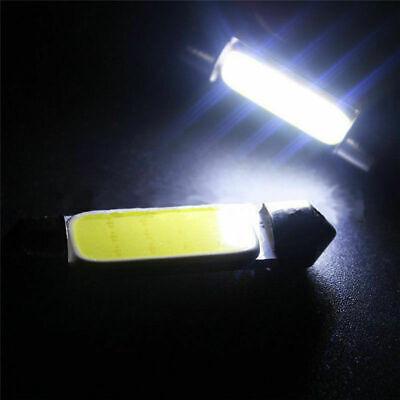 10pcs 6500K 42MM Festoon White COB LED Map Dome Interior Lights Bulbs 578 211-2