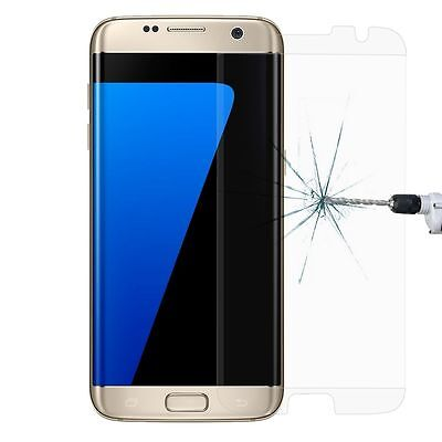 100 PCS Tempered Glass Screen Protector Samsung Galaxy S7 EDGE Anti-Scratch CLE
