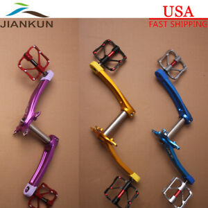 US-Crankset-9-16in-3-Bearing-Pedal-104BCD-MTB-Bike-Crank-Chainring-Bolts-BB