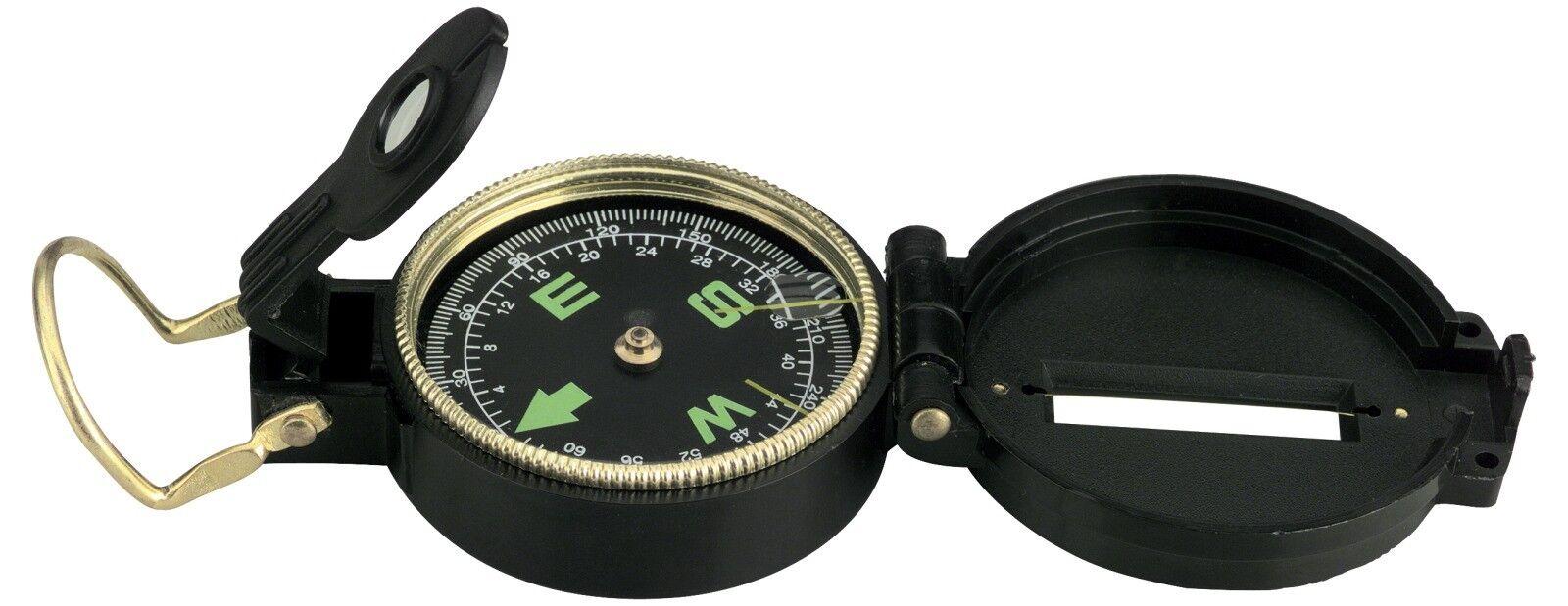 Boussole Petit Compas Lensatic Skipper Skipper Skipper boots Boussole couvercle et Support e222f3