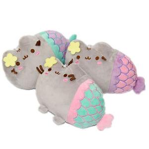 Pusheen-Mermaid-Pusheenicorn-Stuffed-Cat-Kawaii-Plush-Toy-color-sent-randomly