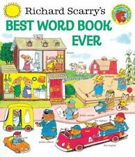 Giant Little Golden Book: Best Word Book Ever by Richard Scarry (1999, Hardcover)