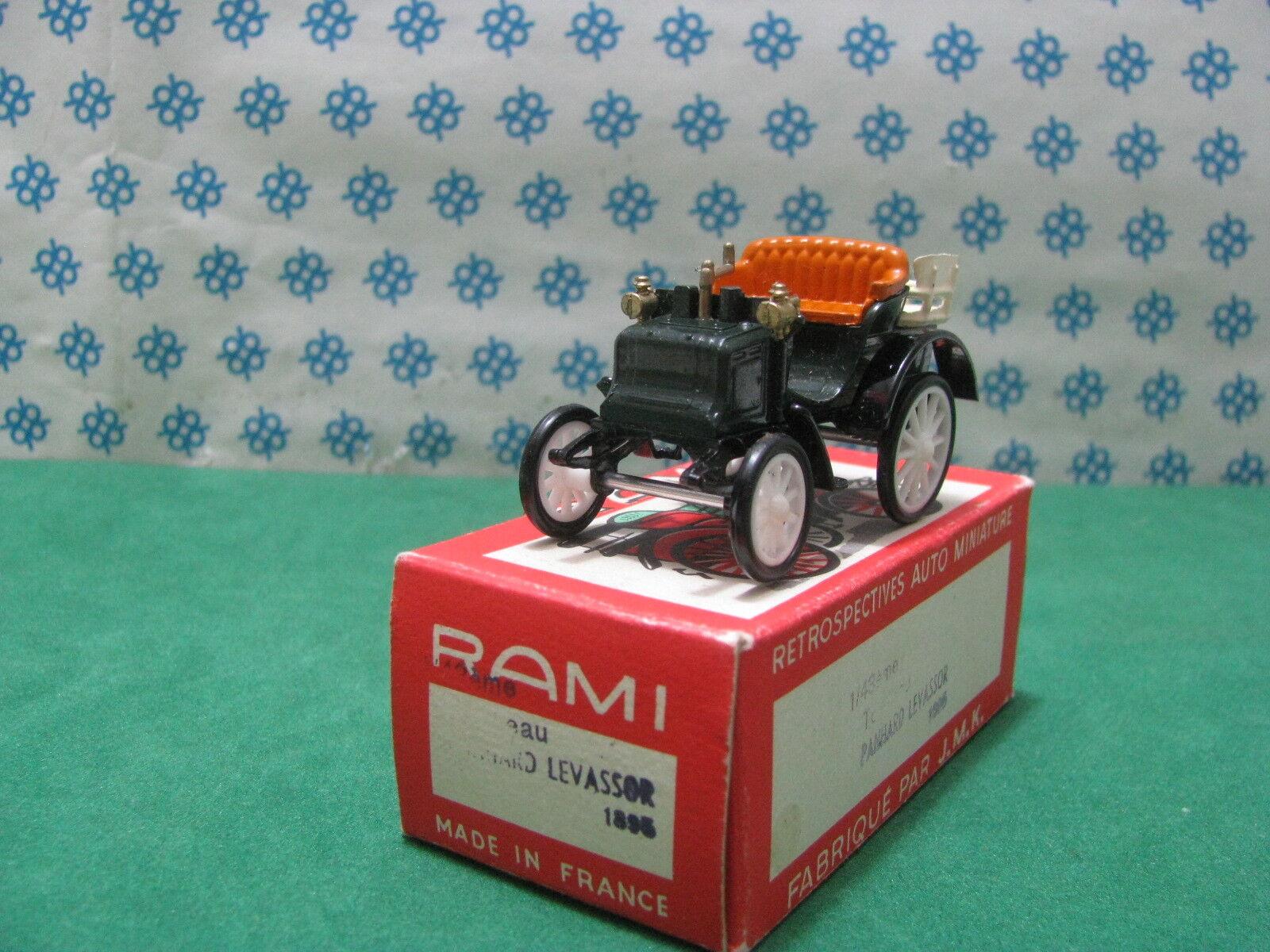 Vintage Rami n°25 - PANHARD & Levassor Tonneau Ballon 1895 - 1 43 France
