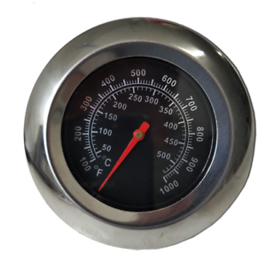 PA021 DIY Stainless Steel Pizza Oven Thermometer