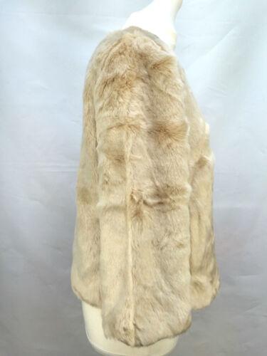 M Fourrue Taille Manteau Femmes Zara Veste Z1Uwq7xcH4