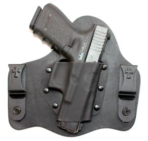 Crossbreed SuperTuck dentro de la cintura Pistolera Para Glock 17 19 22 23 31 32 34 35 KYDEX Cuero