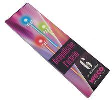 P016 Feuerwerk 6 Bengalische Fackeln je 20 cm 3 Farben G1