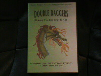 Green Dragon Studios Snake Style Double Daggers Martial Arts DVD RARE