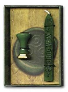 Green Celtic Triskele Sealing Wax!