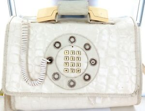 SCARCE-c1970s-COMBINATION-TELEPHONE-amp-LARGE-SHOULDER-BAG-ORIGINAL-TAG