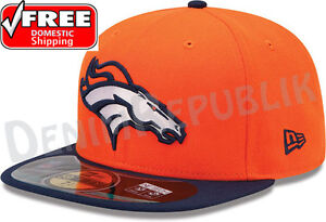 74e31d249 New Era 59FIFTY DENVER BRONCOS Official NFL On Field Cap Fitted ...