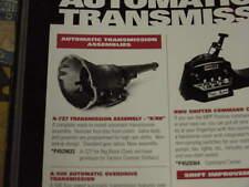Mopar 727 B Rb Torqueflite Transmission Nos Cuda Charger 300 Fury Nib Challenger