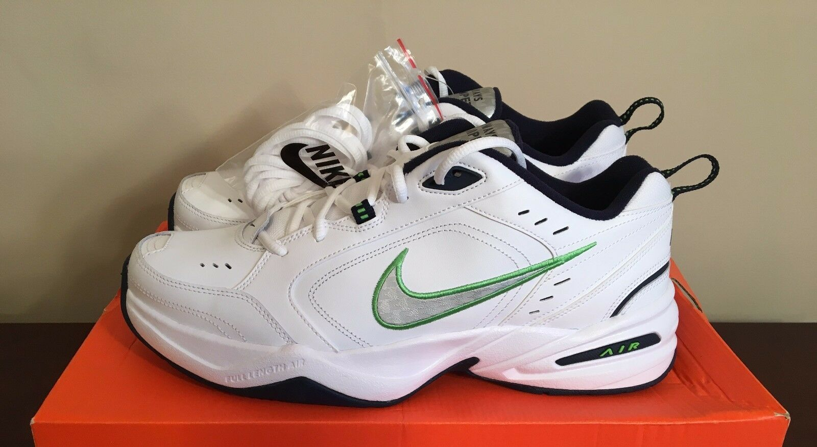 Nike Nike Nike Air Monarch IV 4 Pete Carroll Seattle Seahawks PE Promo Sample US Size 12 0c3d48