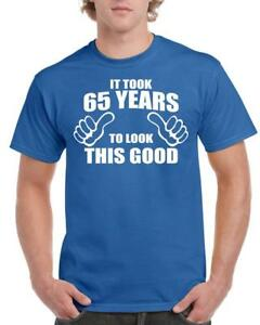 21st-30th-40th-50th-60th-70th-80th-Birthday-Gift-Fun-T-Shirt-Took-Years-Style-2
