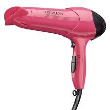 Pink Professional Ionic Hair Blow Dryer 3 Heat Style Curler Pro Salon 1875 Watt