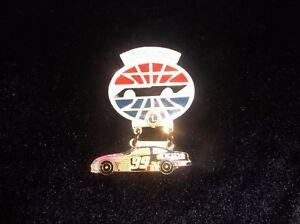 Rare-1999-Jeff-Burton-99-Exide-World-600-Collectible-NASCAR-Lions-Club-Pin-OLD