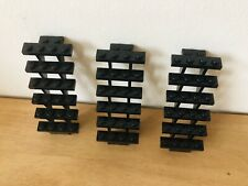 4279270 Brick 30134 2x LEGO NEW 7x4x6 Black Staircase Open