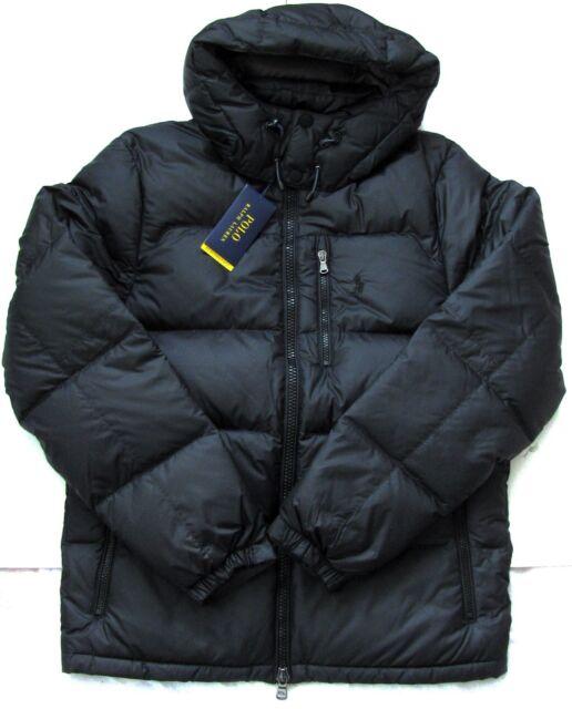 53159c88 NEW Polo Ralph Lauren Men Ripstop Water Repellent Down Jacket Black Navy  Loden