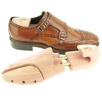 Adjustable Width Aromatic Red Cedar Wooden Shoe Trees, Men's Size 5-14us/38-47eu