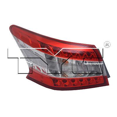 Koolzap For 11-13 Sienna SE Taillight Taillamp Brake Outer Light Lamp Right Passenger R
