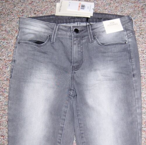 taille Klein Calvin basse Leggings 28 gris Nwt skinny Denim ou Jeans 6 Taille dOwwqRt