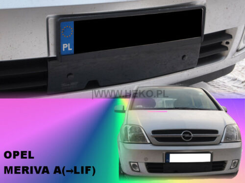 HEKO 04049 hiver Panneau Pour Front Barbecue Barbecue ouverture Opel Meriva B Bj 2006-2010