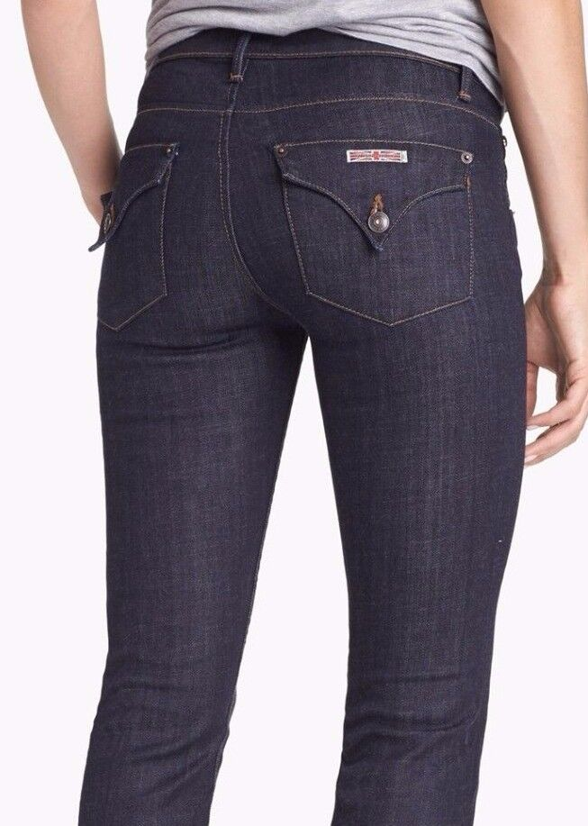 Nuova con Etichetta Hudson Sz25 Carly Midrise Slim-Straight-Stretch Slim-Straight-Stretch Slim-Straight-Stretch Jeans Lisa 814329