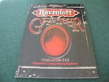 RAVENLOFT GAZETTEER VOLUME III 3 D20 RPG