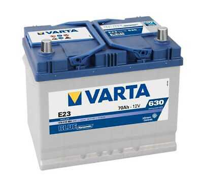 Batterie de Voiture Varta Blue Dynamic E23 12V 70ah 630A