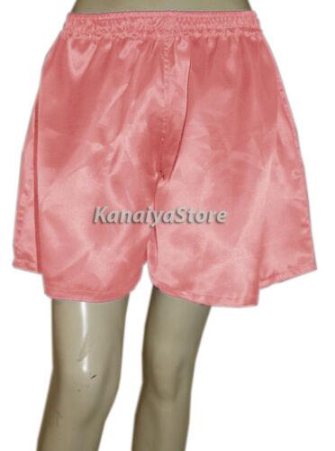 Salmon Adult Baby Women Satin Cute Short Pant Split Skirts Belly Dance NEW Style