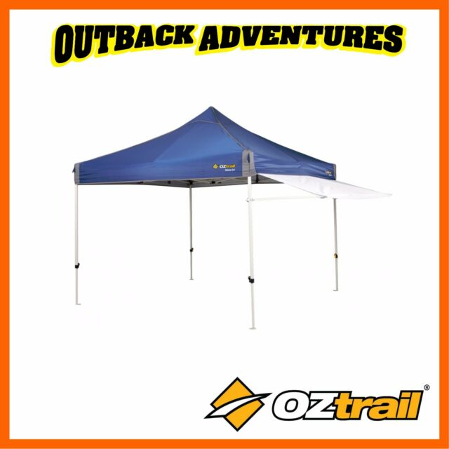 Oztrail Gazebo Removable Awning Kit White 3M for sale ...