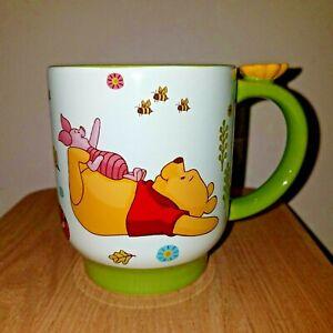 Disney Store Winnie The Pooh Works By A.A. Milne Large Coffee Mug Eeyore Tigger