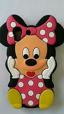 Silicone Cover per cellulari S MINNIE PINK para HUAWEI Y6