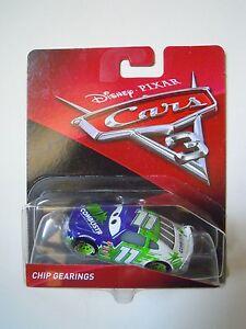 NOVITA-039-CARS-3-Disney-pixar-CHIP-GEARINGS-nr-11-2017-RARO-mattel-1-55-maclama
